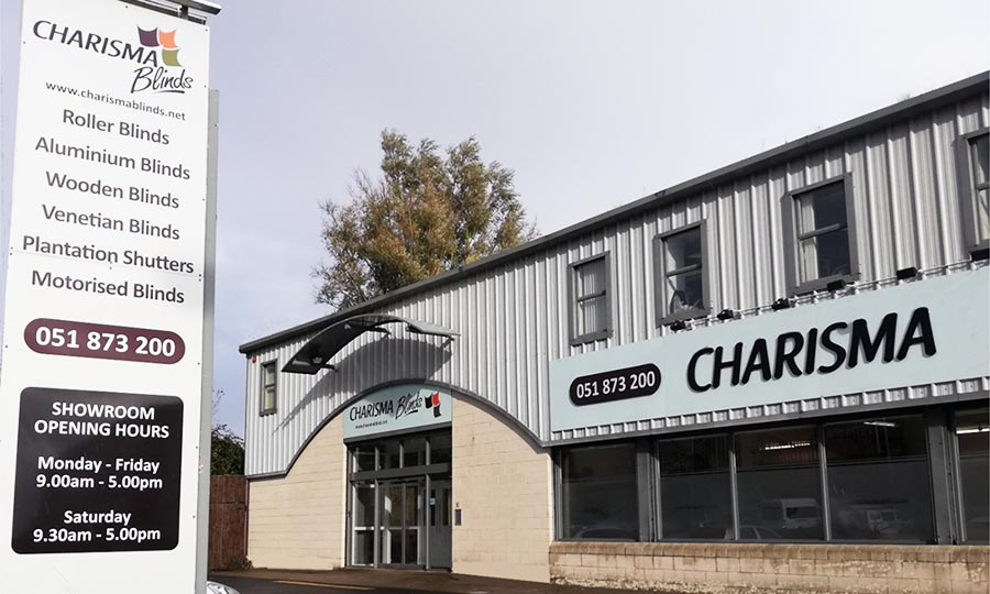 Charisma Blinds Office Showroom