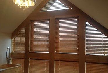 Shaped Window Blinds